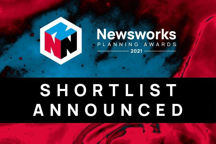 Shortlist announced for 2021 Newsworks Planning Awards
