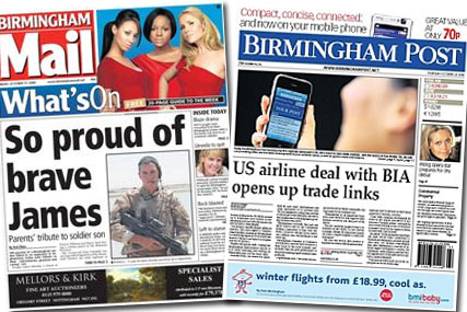 Changes: Trinity Mirror Midlands papers to undergo radical overhaul