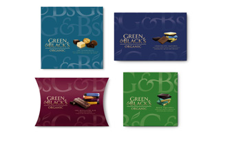 Green & Black's revamps packaging to boost Christmas sales