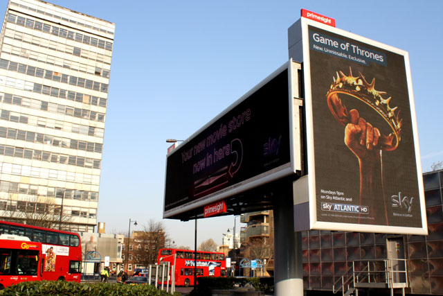 Primesight: Elephant & Castle site in South London