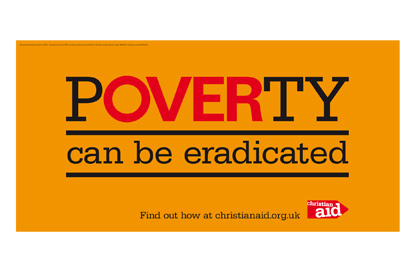 Christian Aid aims to eradicate poverty