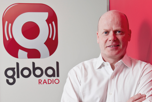 Mike Gordon: commercial director of Global Radio (picture credit: Jan Letocha)