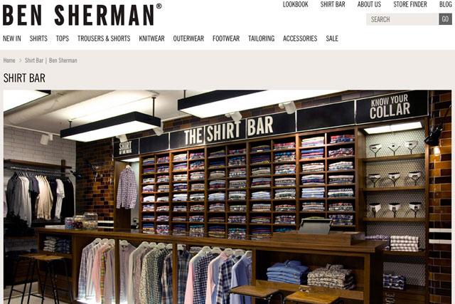 Ben Sherman: contacted agencies
