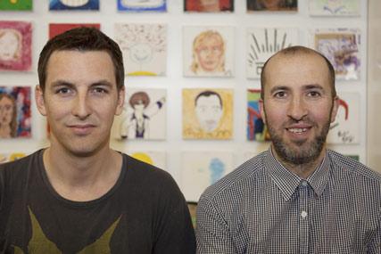 Angus Macadam and Paul Jordan: replace Lockley at Dentsu London