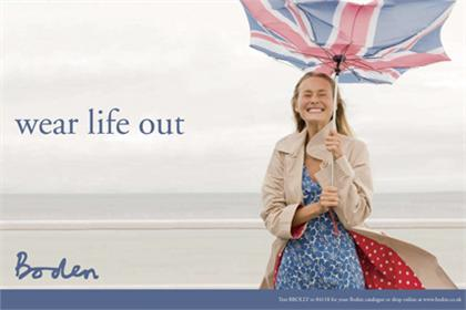 Boden: aspires to crack the teenage market