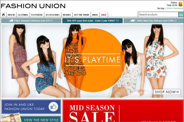 Fashion Union: hands account to AdConnection