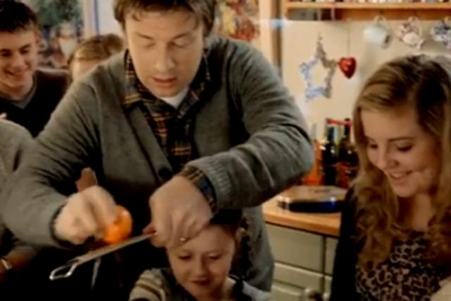 Jamie Oliver: helped boost Sainsbury's Christmas figures