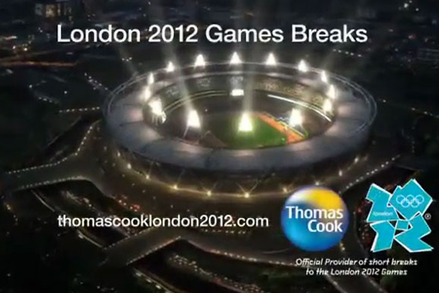 Thomas Cook: Olympics ad employs Google Earth-style technique