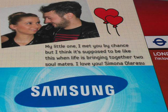 Samsun: Valentine's Day campaign by Cheil Worldwide