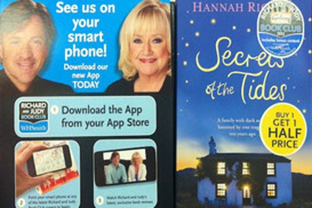 Richard and Judy: Book Club app offers smartphone users access to review videos