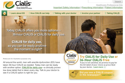 Cialis... media pitch