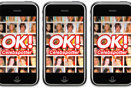 OK! Celebspotter: available in Apple's iPhone App Store