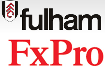 New sponsor: Fulham FC links with FxPro in three-year-deal