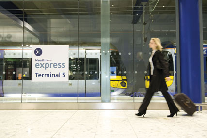Heathrow Express…raising brand awareness
