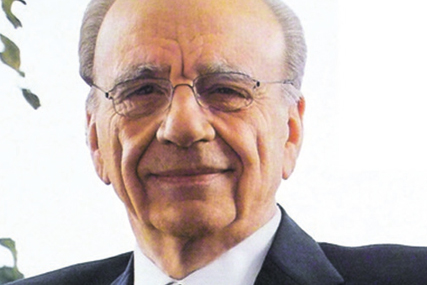 Rupert Murdoch: chairman and chief executive officer of News Corporation