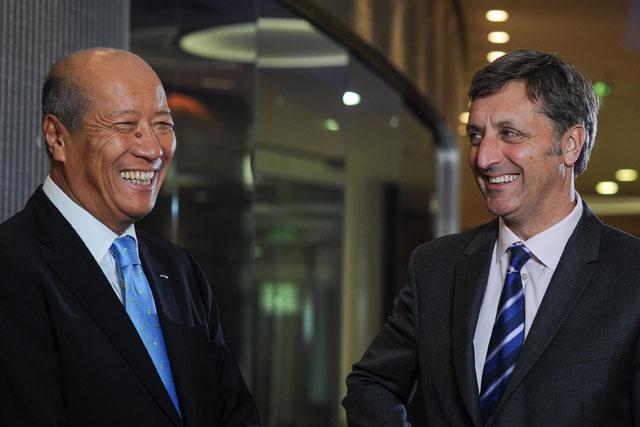 Tadashi Ishii and Jerry Buhlmann: Dentsu Inc and Aegis Group chiefs