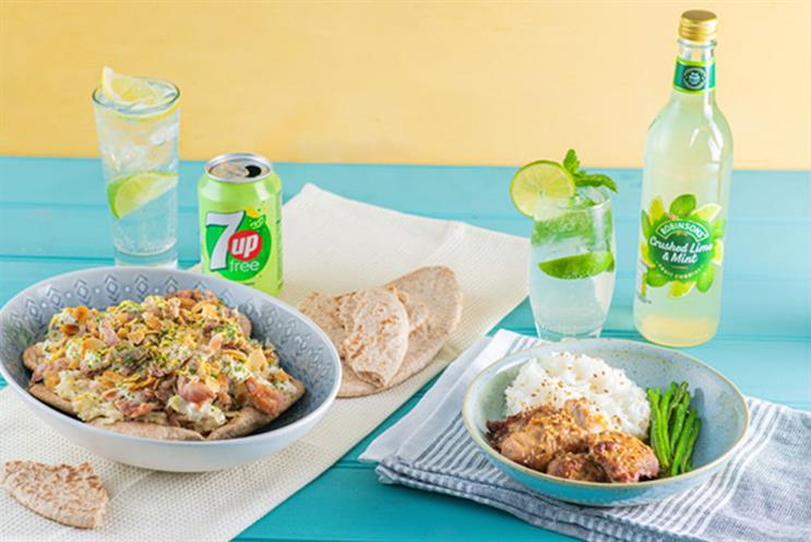 Britvic: citrusy 7-Up Free can be paired with spicier dishes