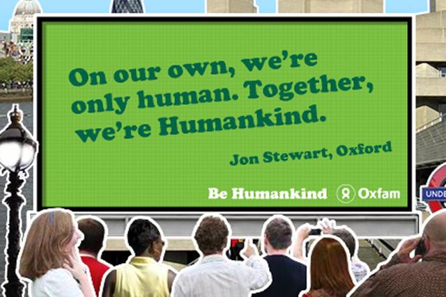 Oxfam: 2010 'humankind' campaign
