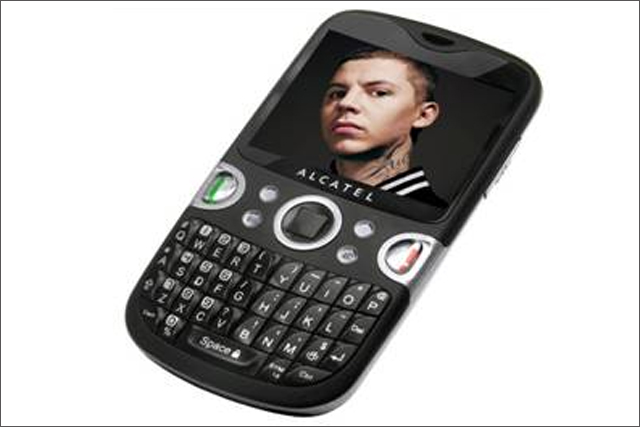 Alcatel: signs Professor Green for the launch of its One Touch 802 handset