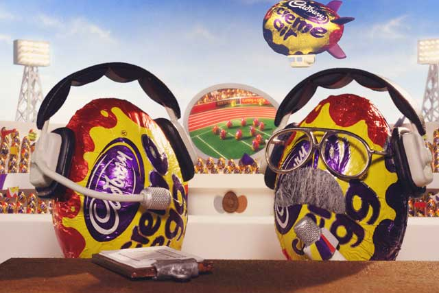 Creme Egg takes the sporty approach with its latest marketing activity
