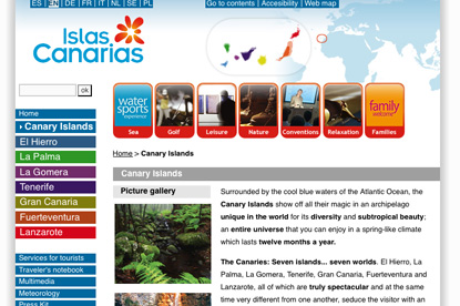 Canary Islands Tourist Board...£3m media review