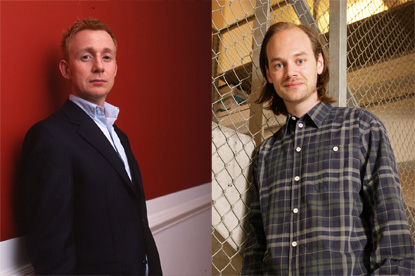 Ed Ling (l) and Matt Hardisty (r)...quitting AnalogFolk