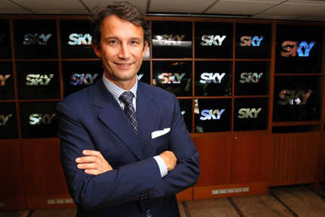 Andrea Zappia: Sky Italia chief executive