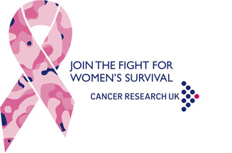 cancer research uk launches breast cancer awareness logo and campaign