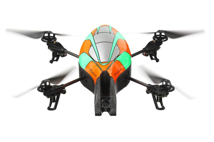 Augmented-reality drones