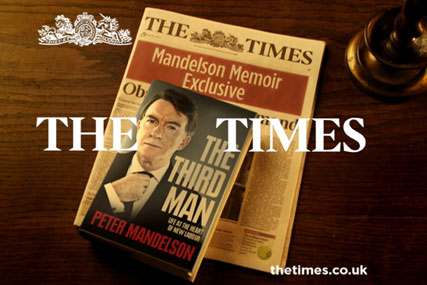 Times: has hired VCCP for pay-wall task
