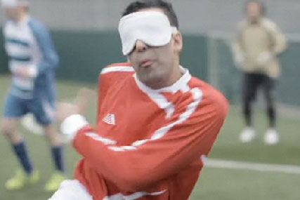 Paddy Power: ad features blind footballers