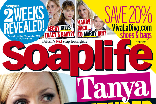 Soaplife: remains a relative minnow in the TV listings market