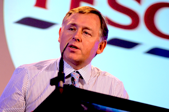 Richard Brasher: commercial and marketing director of Tesco
