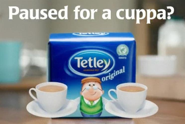 Tetley: digital TV ad campaign