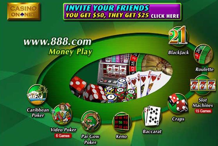 Agencies line up for 888.com media brief