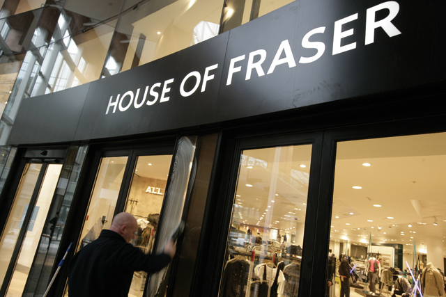 House of Fraser: appoints Tony Holdway to the new role of director of brand