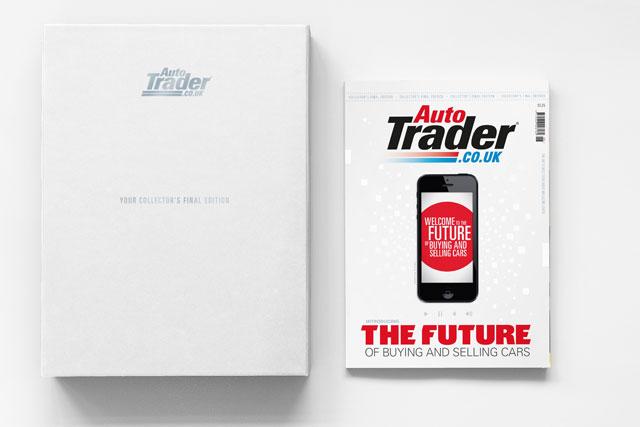 Auto Trader creates digital cover wrap for last print magazine