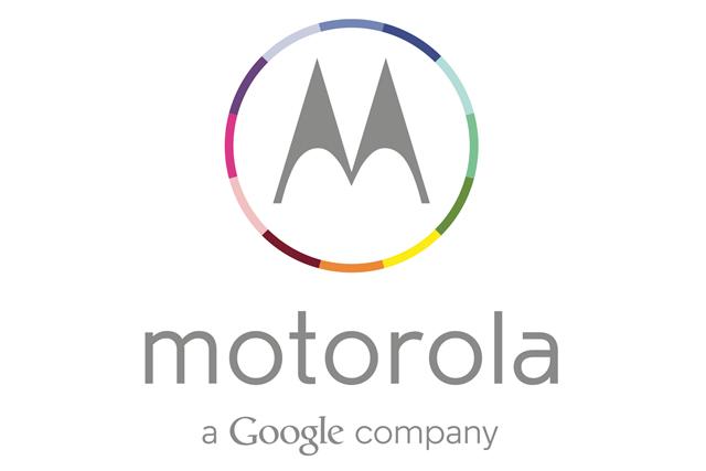 Motorola: adds Google to logo