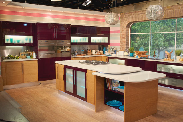 B&Q: installed kitchen for ITV's This Morning studio