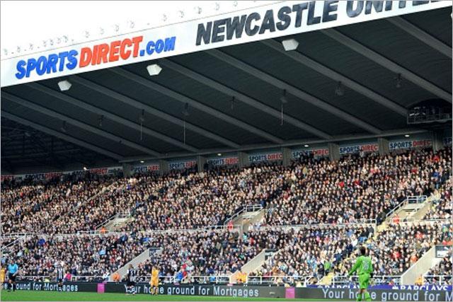 Newcastle: renames stadium