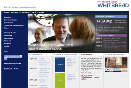 Whitbread: digital advertising review