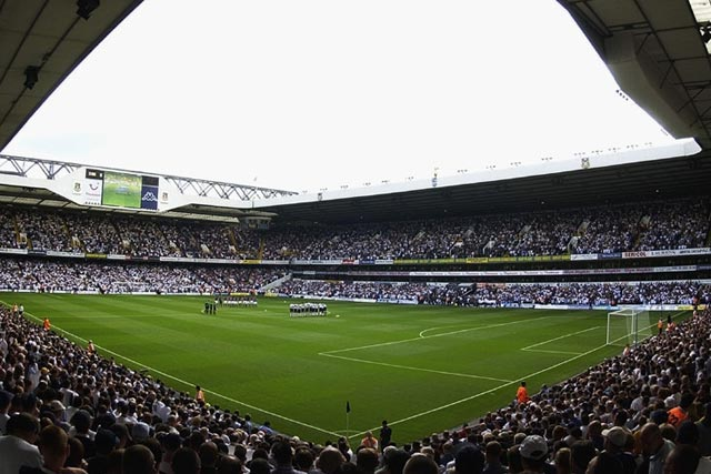 White Hart Lane: home ground of Tottenham Hotspur Football Club