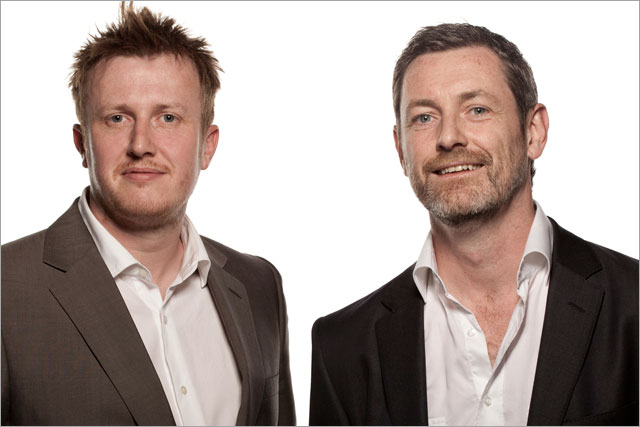 Ryan Shaw and Dom Martin: joint creative directors at The Bank