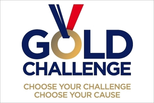 Gold Challenge: aims to raise £20m by the end of 2012