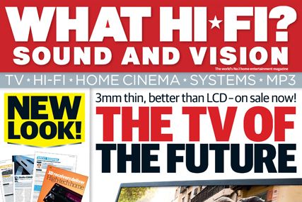 New look for What Hi-Fi? Sound and Vision magazine