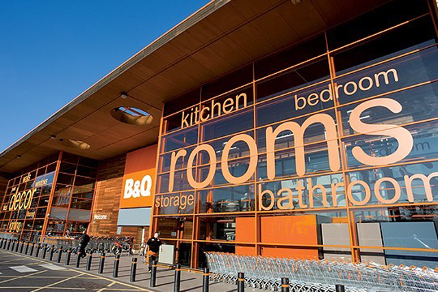 B&Q: hosts flashmob in aid of Comic Relief