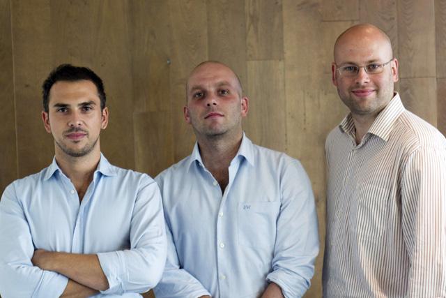 Christopher Smith, Matt Jones and Tim Dunn