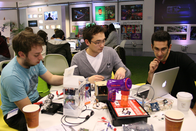 Big brands embrace all-night 'hackathons'