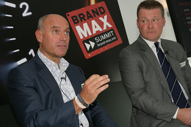 BrandMAX: Simon Daglish, group commercial director at ITV and Paul Hayes, managing director, commercial, NI