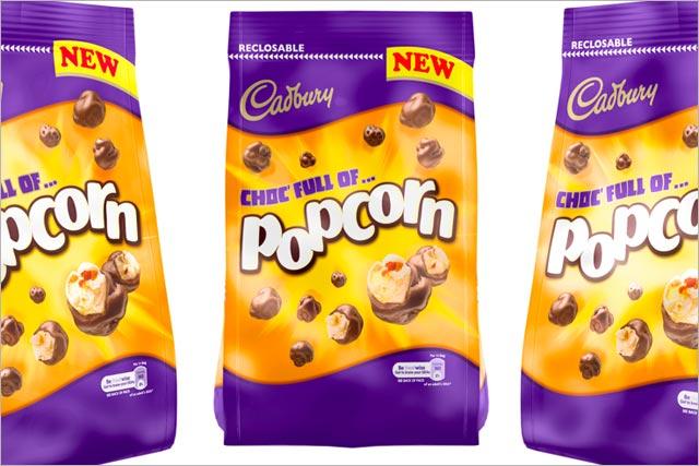 Cadbury: readies popcorn launch